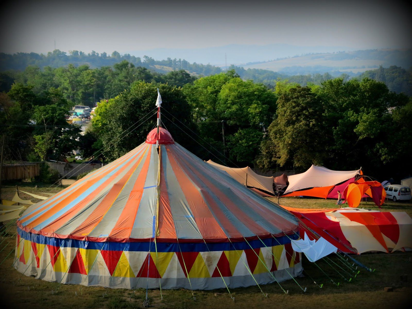 ... tent the weekly programme is carried out by our team as well trainings and workshops during the day perfromances in the evening and parties at night. & Circus Tent | Firebirds